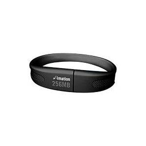 Imation USB 2.0 256MB Flash Wristband - BLACK