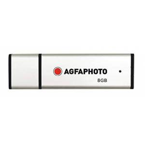 AgfaPhoto 10512 8 GB USB 2.0 Flash Drive - Silver