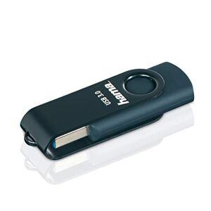 """Hama """"Rotate"""" USB Flash Drive, USB 3.0, 32GB, 70Mb/s, petrol blue"""