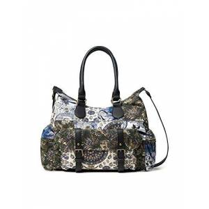 Desigual Women's Accessories Fabric Shoulder Bag, Black, U U