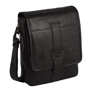 camel active Imperial Messenger Bag 28 Centimeters Black (Schwarz)