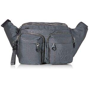 Mandarina Duck Women's Md20 Lux Minuteria Messenger Bag, Black (Titanium), 44x23x9,5 centimeters (W x H x L)