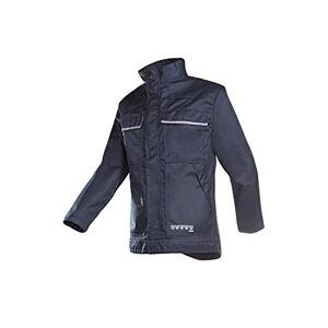SIOEN 027VA2PU2B98064 Effiat Jacket With Arc Protection, 64, Navy Blue