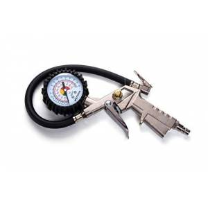 Md3 MotoDia MD3 Tyre Inflator with Pressure Gauge 220 PSI, Heavy Duty for Car, Motorycle and Bicycles with Presta and Schrader Valve
