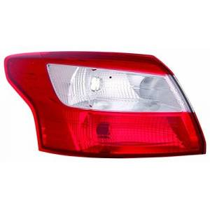 41-3200-L-63756 TarosTrade 41-3200-L-63756 Tail Light Outer For 4 Doors Hella