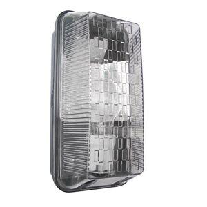 S6354 Powermaster S6354 Rectangular Bulkhead Light, 100 W, Black