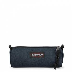 Eastpak Benchmark Single Pencil Case, 21 cm, Blue (Triple Denim)