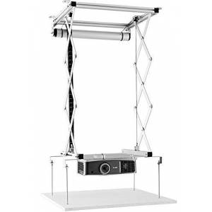 celexon projector ceiling lift PL1000 - extendable up to 90cm - up to 15kg - max. dimensions 57cm x 60cm - also for suspended ceilings