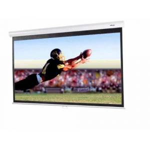 Infocus Manual Pull Down Screen - Projection screen - 92 in - 16:9 - Matte White - white