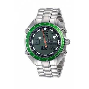 Sector 'Mountain Master' R3253908015 Men's Analog and Digital Multifunction Watch with Steel Bracelet