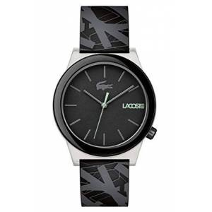 Lacoste Mens Analogue Classic Quartz Watch with Silicone Strap 2010937