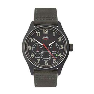 Limit Mens Analogue Classic Quartz Watch with Nylon Strap 5969.01