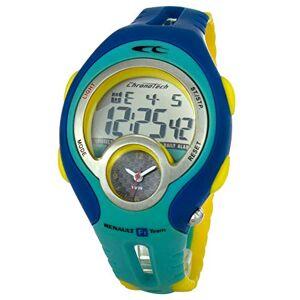 Chronotech Mens Analogue-Digital Quartz Watch with Rubber Strap CT7641M-13