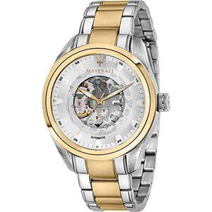 Maserati Men's Analog Quartz Watch with Stainless Steel Strap R8823112004