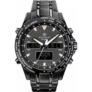 Accurist Mens Analogue-Digital Watch with Stainless Steel Strap 7102.01