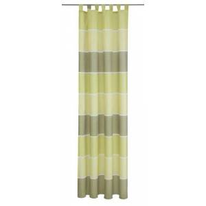 Deko Trends Ravenna 8365 01 066 Tab-Top Curtain with 7 Loops and Universal Strap