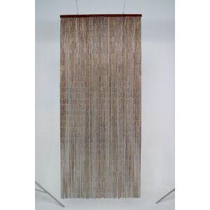 Morel e149 Door Curtain 90 x 200 cm Bamboo Mahogany