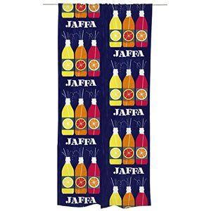 Vallila Jaffa Curtain Panel 140x250 cm, Blue, Colorful, Cotton Blend 140 x 250 cm