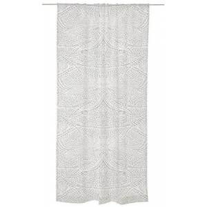 "Vallila"" LIBELLE Black Out Curtain, Polyester White, 250 x 140 x 0.1 cm"