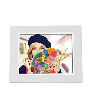 Rollei 30243 Degas DPF-800 White Digital Multimedia Photo Frame