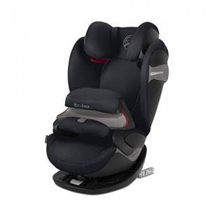 519001029 Cybex Gold Pallas S-Fix 2-in-1 Child's Car Seat, for Cars With and Without ISOFIX, Group 1/2/3 (9-36 kg), From Approx. 9 Months to Approx. 12 Years, Urban Black
