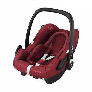 8555701300 Maxi-Cosi Rock Baby Car Seat Group 0+, ISOFIX, i-Size Car Seat, Rearward-Facing, 0-12 m, 0-13 kg, Essential Red