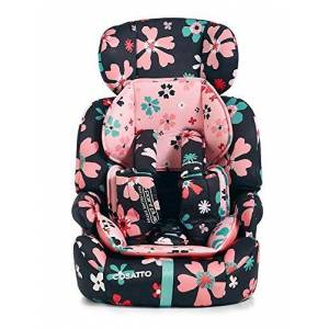 Ct3620 Cosatto Zoomi Car Seat - Group 1 2 3, 9-36 kg, 9 Months-12 years, Side Impact Protection, Forward Facing (Paper Petals)