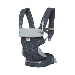 Ebc360starry Ergobaby – 360 Baby Carrier Backpack – Grey Stars