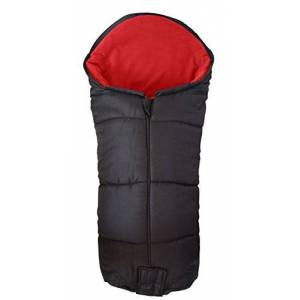 Deluxe Footmuff/Cosy Toes Compatible with Silver Cross Pushchair Pram Buggie Red
