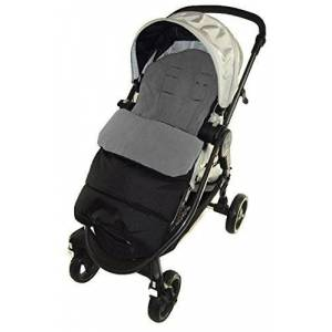 Footmuff/Cosy Toes Compatible with Joie Chrome Pushchair Dolphin Grey
