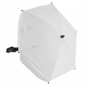 Fylowhite232 For-Your-Little-One Ba Parasol Compatible with I'Coo Pluto, White