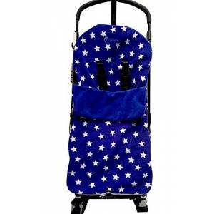 Snuggle Footmuff/Cosy Toes Compatible with Cosatto Buggy Giggle Yo! Supa Dupa Ooba Blue Star