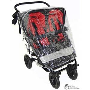Raincover Compatible with Maclaren Twin Triumph Double Pushchair (213)