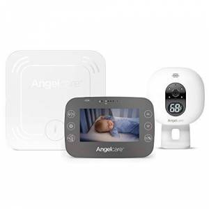 A0337-Na1-A1024 Angelcare AC337 Baby Movement Monitor with Video White