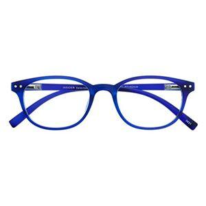 I NEED YOU Readers Insider Select Retro Design Reading Glasses +2.5 Blue
