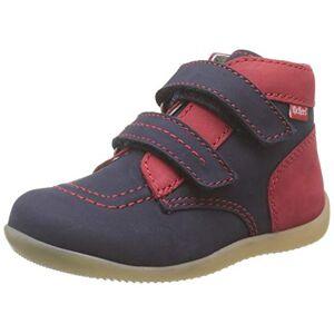 Kickers Unisex Babies' Bonkro-2 Boots, Blue (Marine Rouge 103), 3 UK