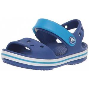 Crocs Unisex Kids Crocband Kids'' Sandal, Cerulean Blue Ocean, 13 UK Child