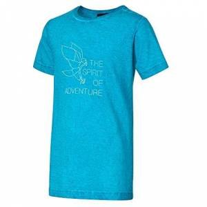 CMP Boys' T-Shirt Slub Jersey 100% Cotone, Ottanio, 128