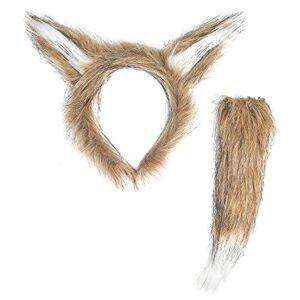 Widmann 03375 Fox Costume Set Brown