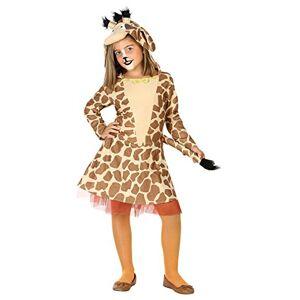 ATOSA 39406 Costume Giraffe Brown 3-4 Years Girl-Wild Animals, 104 (EU)