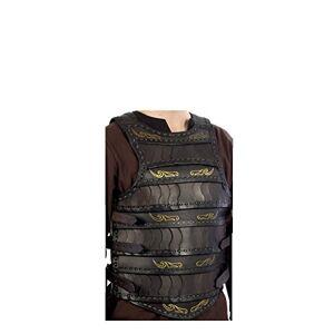 Epic Armoury 100509SM Celtic Lamellar - Black - S/M Torso Armour, Unisex Adult