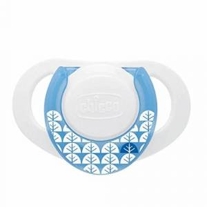 Chicco Soother Physioring, Rubber 0 MESI+ Blue