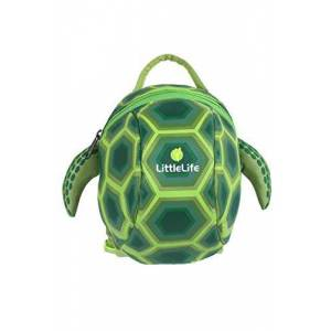 L10811 LittleLife Animal Toddler Backpack With Safety Rein, Turtle