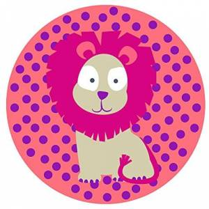 1210003717 Lassig Kids Wildlife Lowe Silicone Placemat