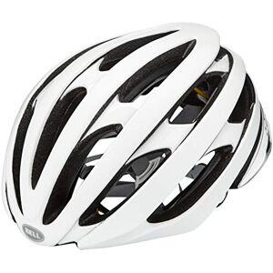 Bell Unisex's Stratus MIPS Road Helmet, Matt/Gloss White/Silver, L 58-62cm