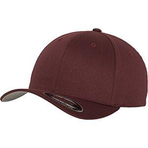 Flexfit Unisex-Erwachsene Wooly Combed 6277 Mütze, Rot (maroon), XS/S