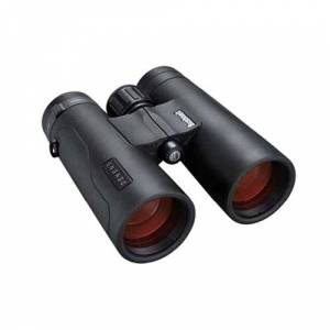 Bushnell Engage 10x42mm all purpose binocular. BEN842. Pouch and strap included. High quality Dielectric prism coatings with 92% light transmission. Bak-4 roof prisms