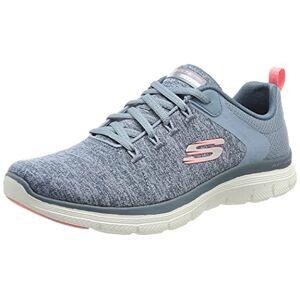 Skechers Women's Flex Appeal 4.0 Brilliant View Sneaker, SLTP, 5 UK