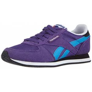 Reebok Royal Classic Jogger, Women's Low-Top Sneakers, Purple (sport Violet/energy Blue/wht/blk/coll Royal), EU 36 (UK 3.5 / US 6)
