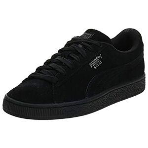 Puma Men's Suede Classic+ Sneakers, Black-Dark Shadow, 10 UK
